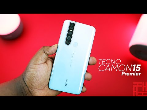 Tecno Camon 15 Premier Unboxing and First Impressions