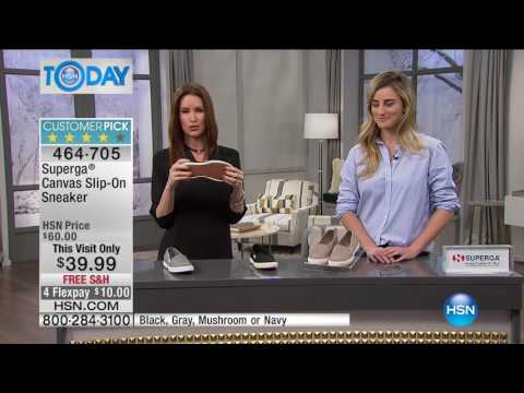 HSN | HSN Today: Superga Footwear . http://bit.ly/2LaUYjm