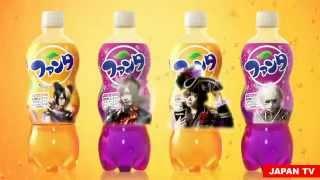Японская реклама Фанты / Japanese Fanta Commercials(Японская реклама Фанты Japanese Fanta Commercials., 2015-04-29T12:48:55.000Z)