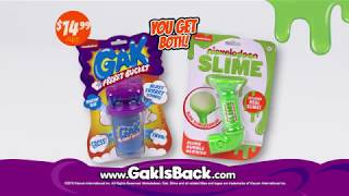Nickelodeon Gak & Nickelodeon Slime Commercial 2018 :30