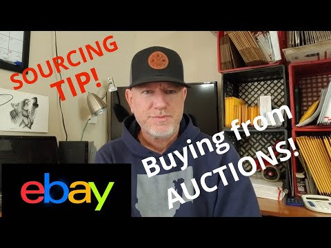 How I Source/Buy From Auctions To Sell On Ebay