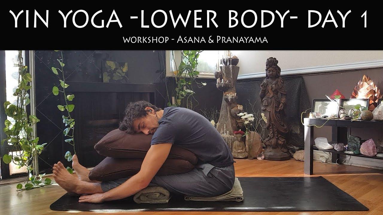 Yin Yoga Workshop | Lower Body | Day 1 | Yoga w/ Stephen Beitler