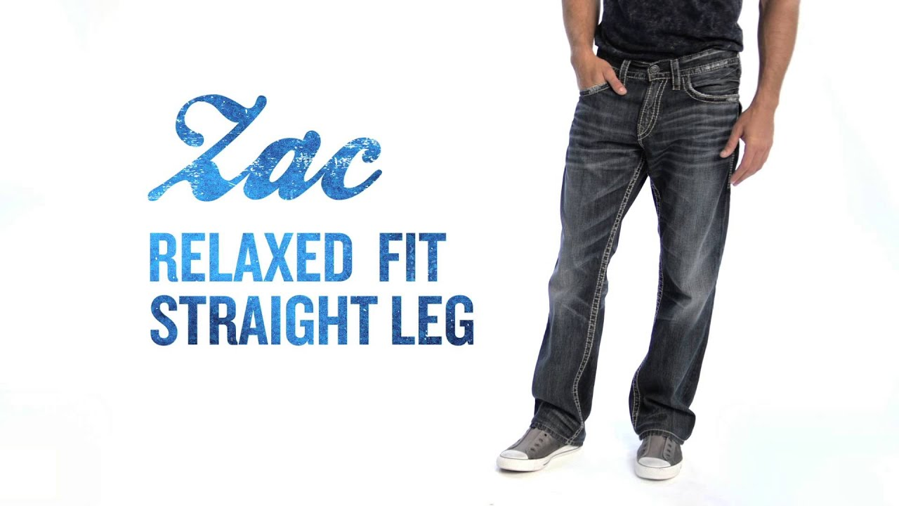 f716e1fe Silver Jeans Co. // Zac - Relaxed Fit, Straight Leg - YouTube