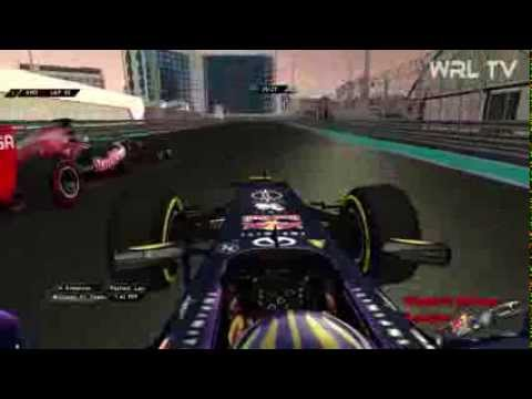 WRL - F1 2013: 12.Abu Dhabi Rennen