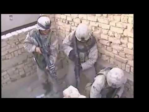 War -  Firefight scenes Iraq  Afghanistan