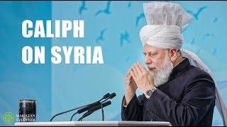 Muslim Caliph condemns Major power tensions