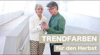 Trendfarben Herbst - Luisa Rossi & Clifford Lilley