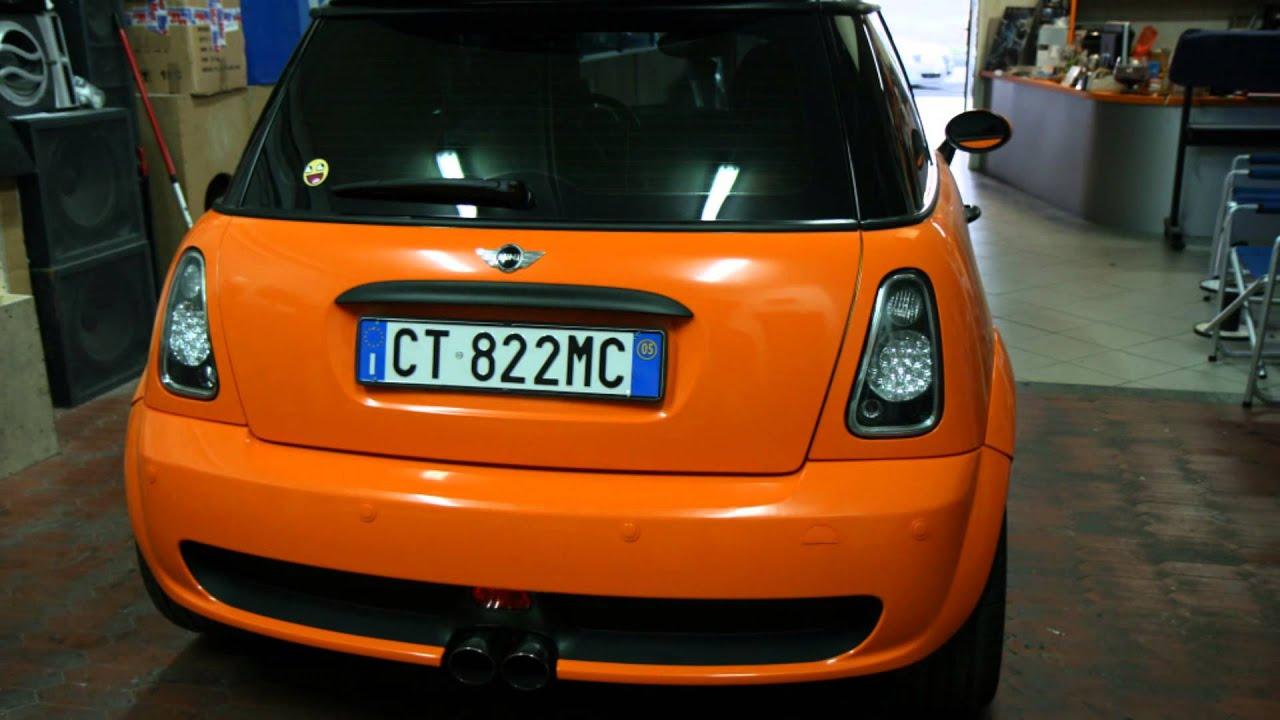 Dj Car Center Wrapping Mini Cooper 3m Youtube
