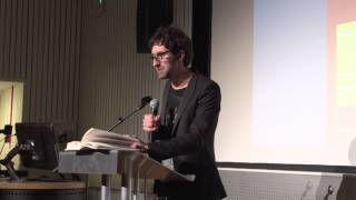 Mark Watson, Oxford Brookes Annual Creative Writing Lecture 2013