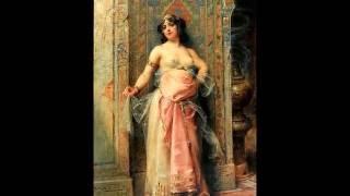 Hossam Ramzy - Faris El-Foursan - Adrien Henri Tanoux - Orientalist Paintings Thumbnail