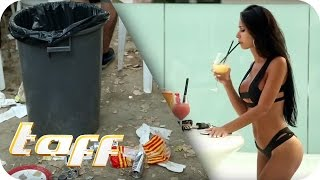 taff Budget Battle Teil 1: Bachelor Leonard Freier vs. Reporterin Nina Beeh | taff | ProSieben