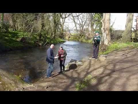 Water of Leith 2015 Fishing Season opened by celebrity fisherman Paul Young
