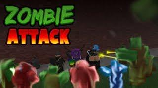 Its the ZOMBIE APOCALYPSE   Zombie Attack   ROBLOX