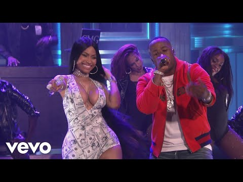 Yo Gotti  Rake It Up  on The Tonight Show Starring Jimmy Fallon ft Nicki Minaj