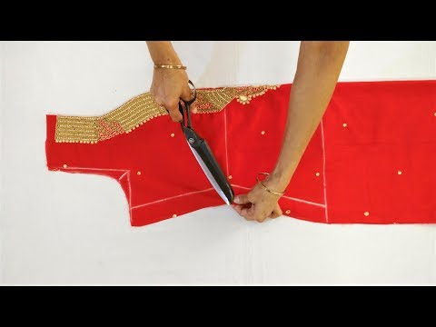 Embroidery Work Kameez/Suit Cutting With Very Helpful Tips And Easy Method (Step By Step)