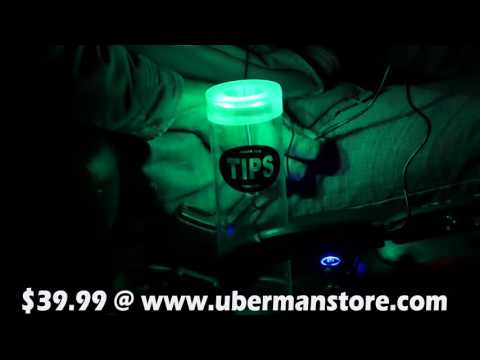 Uber Man Presents Revised Tip Cups!! Get One Today!!