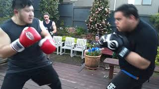 My Home Gym Boxing Club - Garage Styles