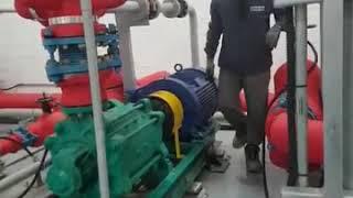 돌덩이TV-신축빌딩 펌프성능시험(체절운전)
