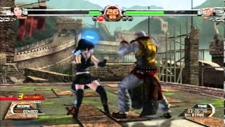 Virtua Fighter 5 FS: Eileen Gameplay