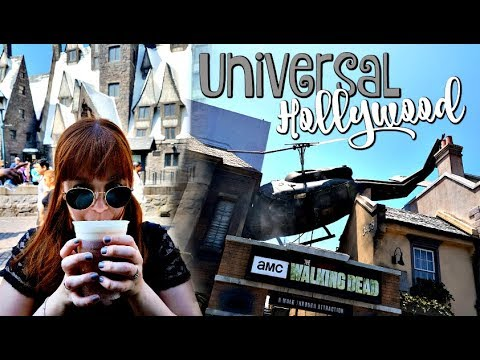 UNIVERSAL HOLLYWOOD (Dia 1, Pt.1): THE WALKING DEAD + HARRY POTTER