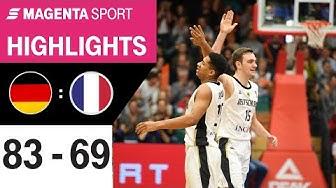 Deutschland - Frankreich | Basketball EM-Qualifikation | MAGENTA SPORT