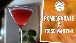 How To Make Pomegranate & Rose Martini by Mixologist Nikhil Naik