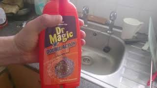 Dr Magic Double Action Foamer Sink Unblocker DOES IT WORK?