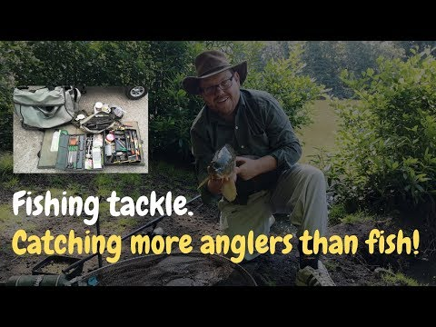 Don't Take To Much Coarse Fishing Tackle - Fishing Equipment - Fishing Videos