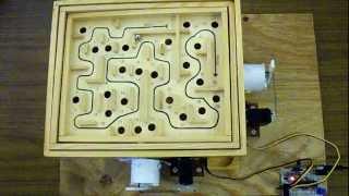 Arduino Labyrinth Maze Game Solver