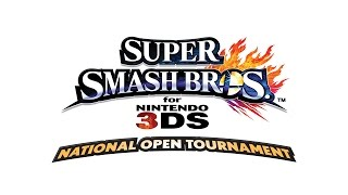 Nintendo's Super Smash Bros. for Nintendo 3DS National Open Tournament