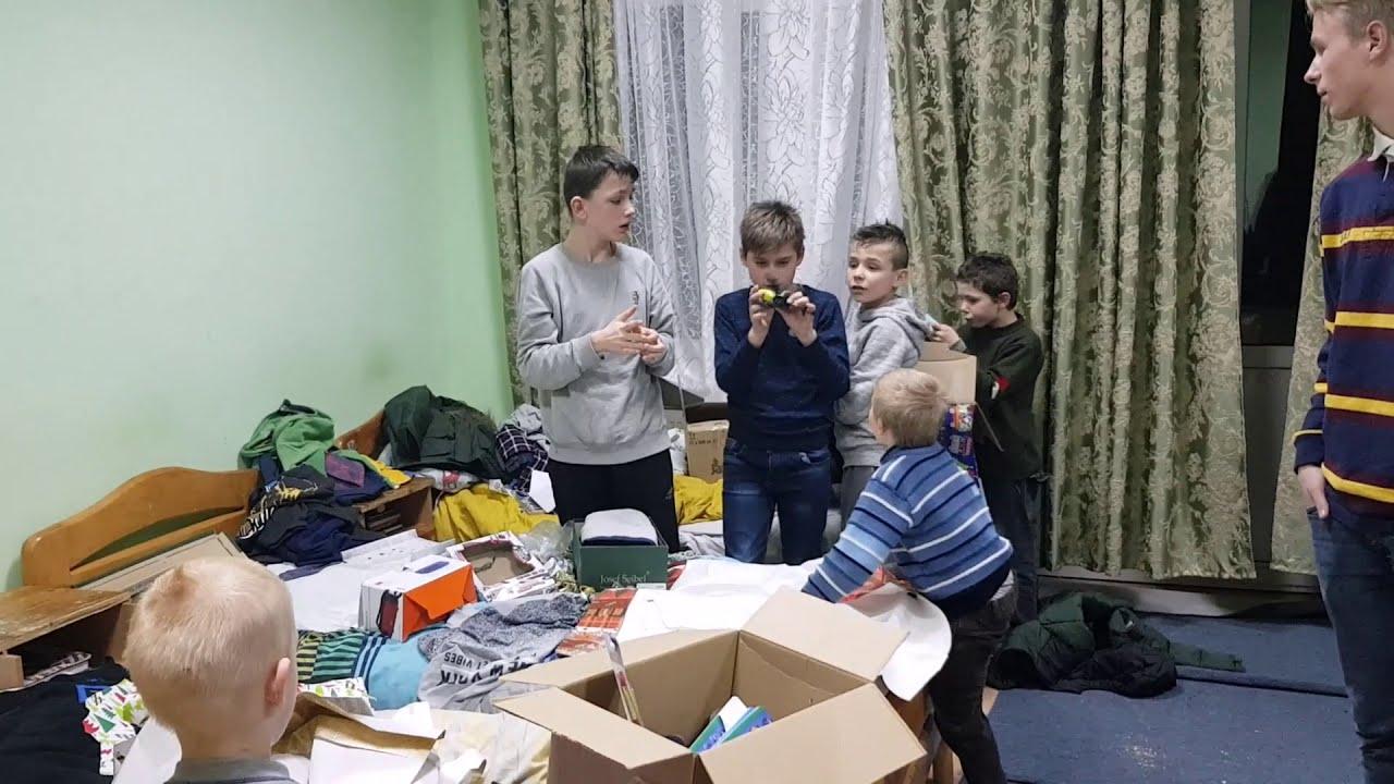 Vánoční balíček 2019 Ukrajina