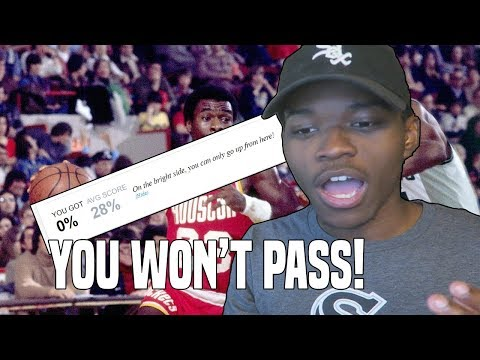 """""""YOU WON'T GET OVER A 70% ON THIS NBA QUIZ"""" 