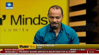 Nollywood Lacks Proper Structure - Ramsey Nouah  Rubbin Minds