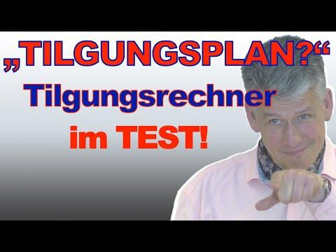 Tilgungspläne Und Tilgungsrechner Im Test: Interhyp Dr. Klein FMH