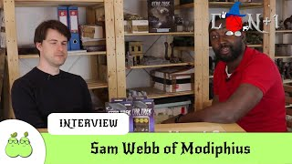 Modiphius Interview with Sam Webb