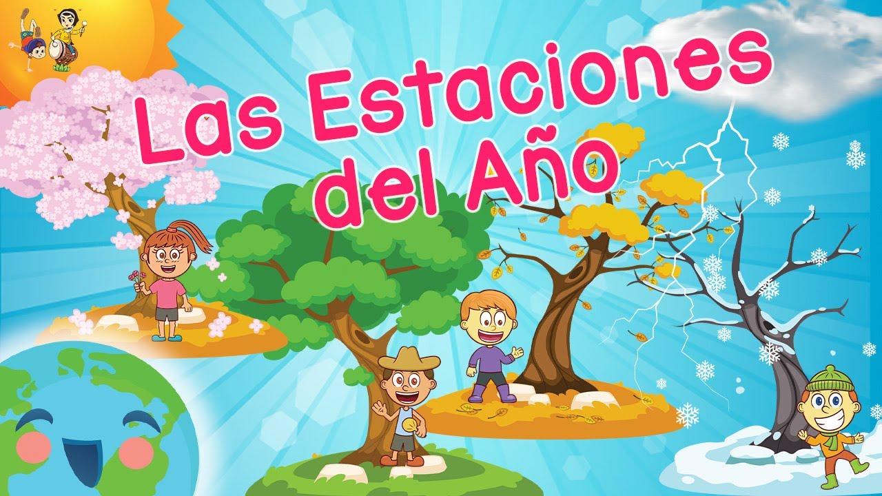 Las Estaciones del Año para Niños (Videos Educativos para Niños ...