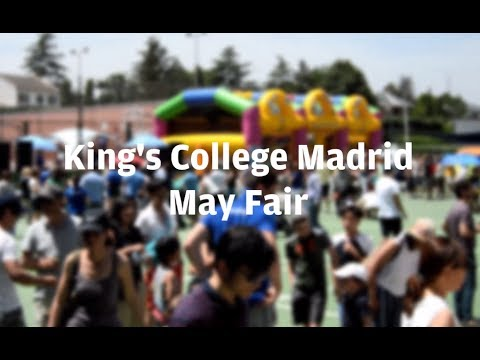 King's College Madrid May Fair 2017