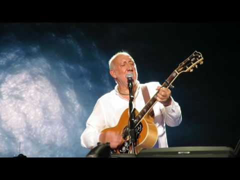 Drowned - Acoustic Pete Townshend- The Who- Atlantic City 7-22-17 Boardwalk Hall