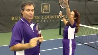 Baby Boomer Tennis - Outstanding Overheads Lesson