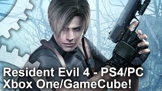 Resident Evil 4 Remastered: PS4/Xbox One/PC/GameCube Graphics Comparison