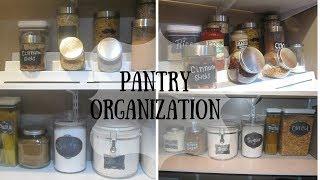 Pantry Organization | Corner Pantry | Dollar tree bins