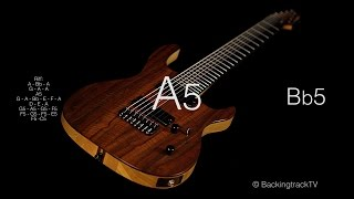 Modern Metal Guitar Backing Track in Am