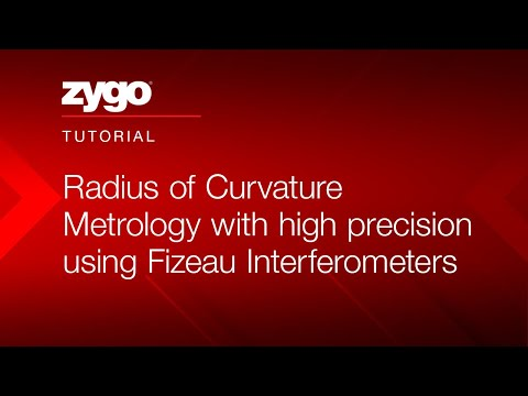 Radius Of Curvature Metrology With High Precision Using Fizeau Interferometers