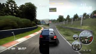 Need For Speed Shift Vs Shift 2 Unleashed (HD) 1080p