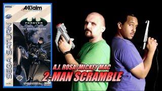 2-Man Scramble - Batman Forever: The Arcade Game (Saturn)