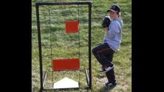 Baseball Strike Zone Practice Pitching Target And Training Aid