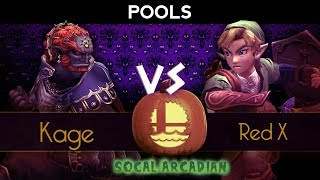 Gambar cover SoCal Arcadian 6 - Pools ft. BCB|Kage (Ganondorf, Dedede) VS Red X (Link)