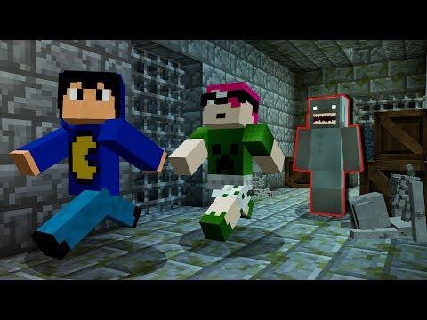 Minecraft: GRANNY QUER NOS PEGAR! (Esconde-Esconde 2)