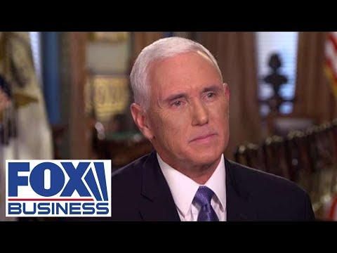 EXCLUSIVE: Charles Payne goes one-on-one with VP Mike Pence