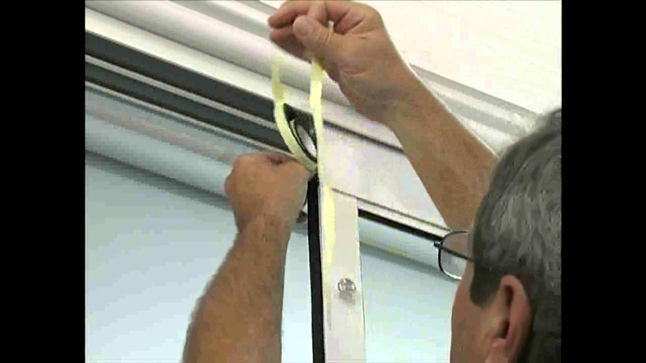 Installing The Fast Fit Aluminum Patio Door By Idea Pet